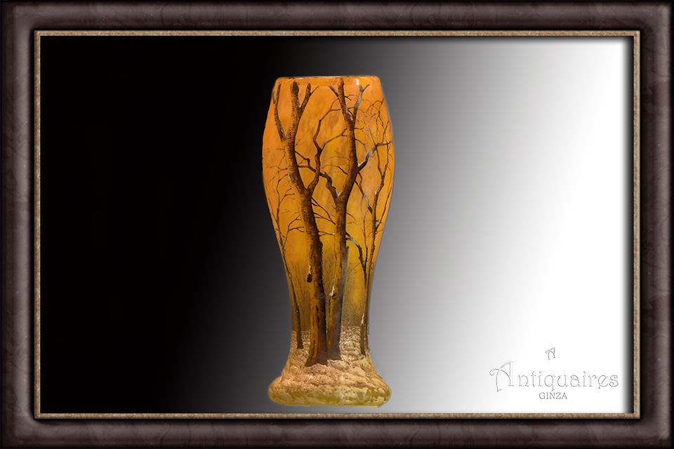 ドーム兄弟 冬景色花瓶